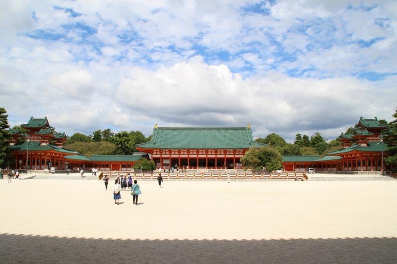 京都訪問ブログ11|平安神宮10