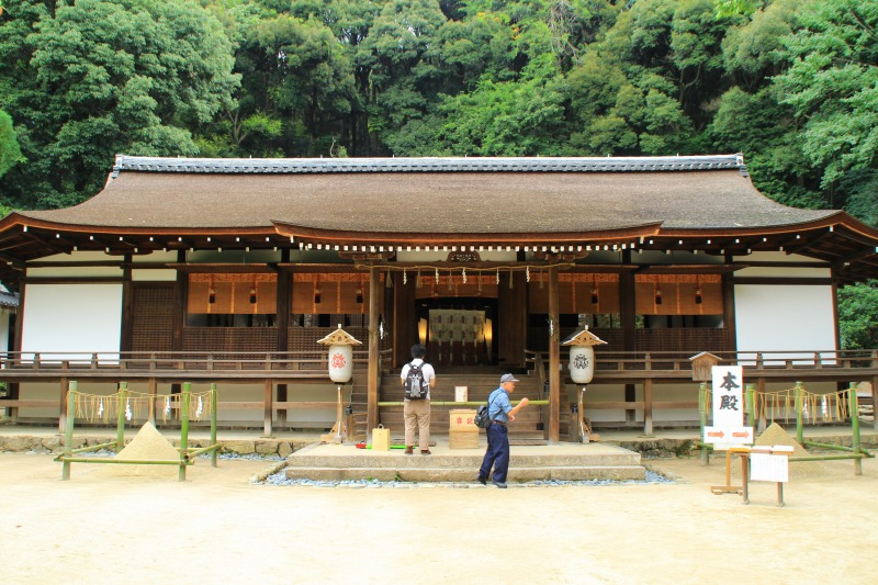 京都訪問ブログ10|宇治上神社12