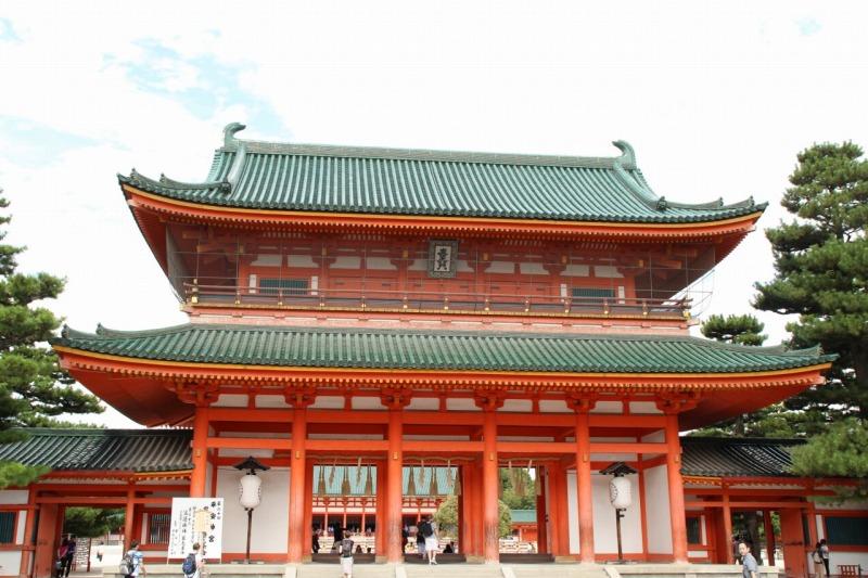 京都訪問ブログ11|平安神宮5
