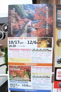 京都訪問ブログ18|嵐山トロッコ列車6
