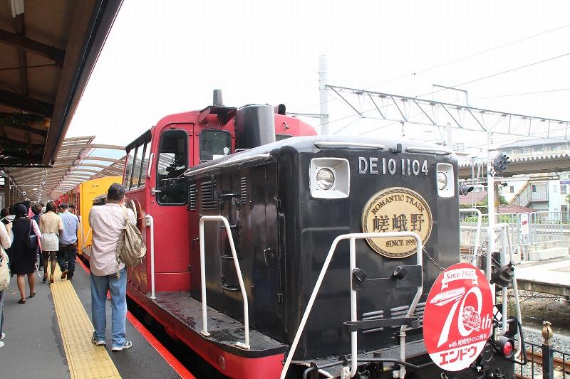京都訪問ブログ18|嵐山トロッコ列車7