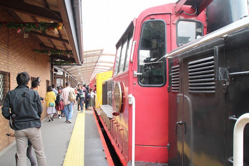 京都訪問ブログ18|嵐山トロッコ列車8