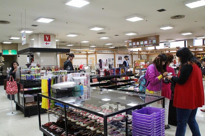 京都訪問ブログ16|西陣織会館10