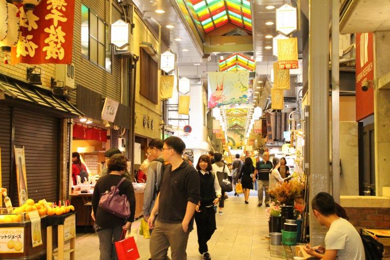 京都訪問フログ15|錦市場2