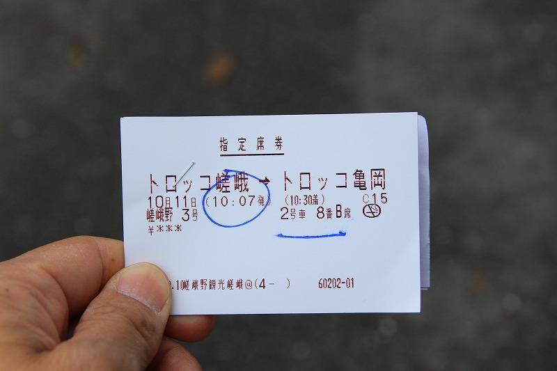 京都訪問ブログ18|嵐山トロッコ列車5