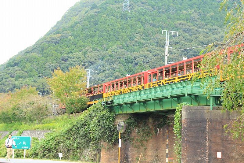 京都訪問ブログ18|嵐山トロッコ列車29