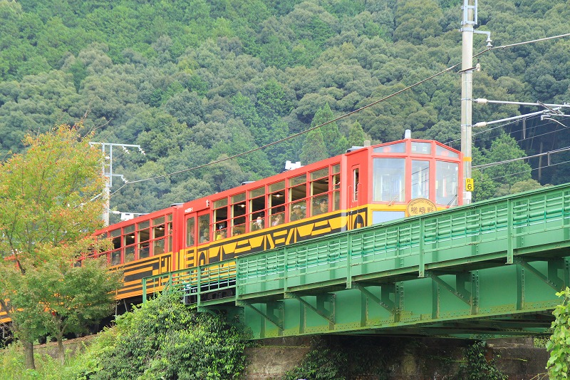 京都訪問ブログ18|嵐山トロッコ列車31