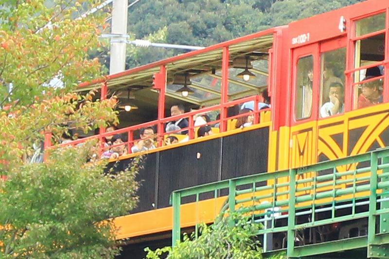 京都訪問ブログ18|嵐山トロッコ列車30