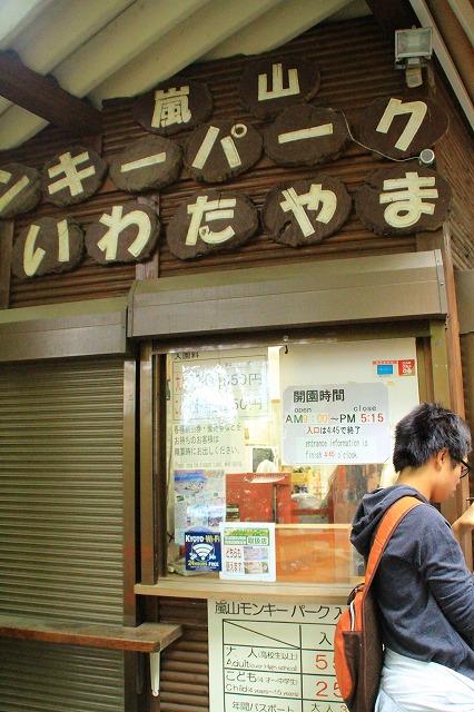 京都訪問ブログ21|嵐山モンキーパークいわたやま4