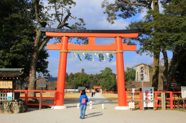京都観光ブログ28|上賀茂神社、片岡社1