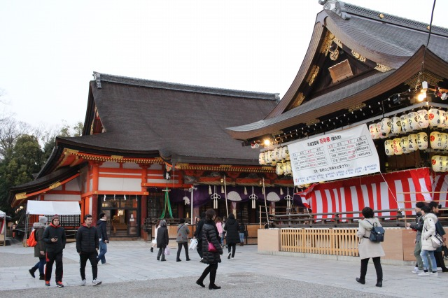 京都観光ブログ25|八坂神社、大国主社、美御前社3