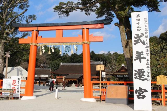 京都観光ブログ28|上賀茂神社、片岡社4