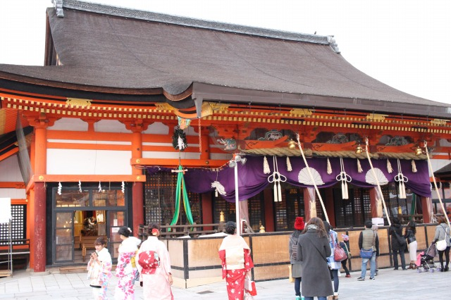 京都観光ブログ25|八坂神社、大国主社、美御前社7