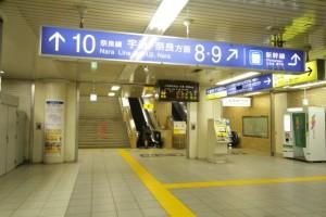 特集!京都駅の構内図とわかりやすい待ち合わせ場所5カ所22