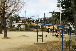 北区|小松原児童公園へ行ってきた!|金閣寺に近い公園