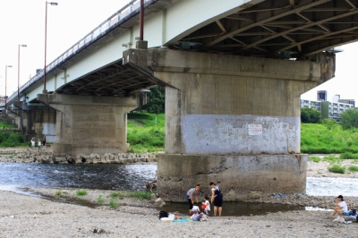 右京区|松尾橋へ行ってきた!|地元で愛される川遊びやバーベキューのスポット!