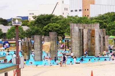 山城総合運動公園「太陽が丘」|ファミリープール、大型遊具などで一日楽しめる!