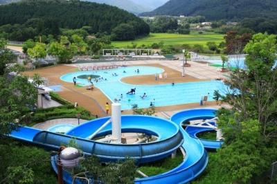 京丹波町|丹波自然運動公園へ行ってきた!|大型遊具やプールでの水遊び、山登り、宿泊もOK!