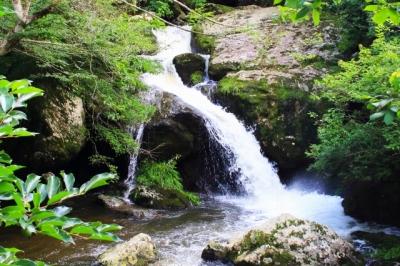 南丹市|るり渓自然公園「るり渓谷」へ行ってきた!|渓流歩道ってどんな感じ? トイレは? 川遊びはできる?
