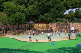 西山公園ジャブジャブ池 幼児用プールのような水遊びスポット   京都の観光と子どもの遊び場150ヶ所以上の...