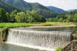 鴨川公園運動場(柊野) 鴨川上流の清流で川遊び   京都の観光と子どもの遊び場150ヶ所以上の訪問体験記
