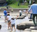 鴨川デルタ|川遊びや飛び石で遊べる三角州